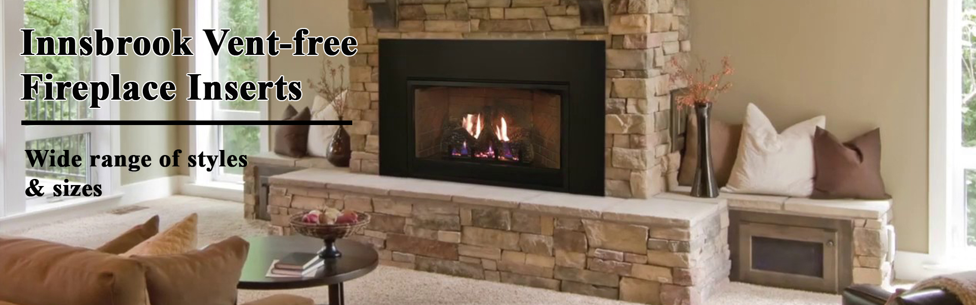vent free fireplace inserts
